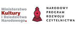 Znalezione obrazy dla zapytania narodowy program rozwoju czytelnictwa logo